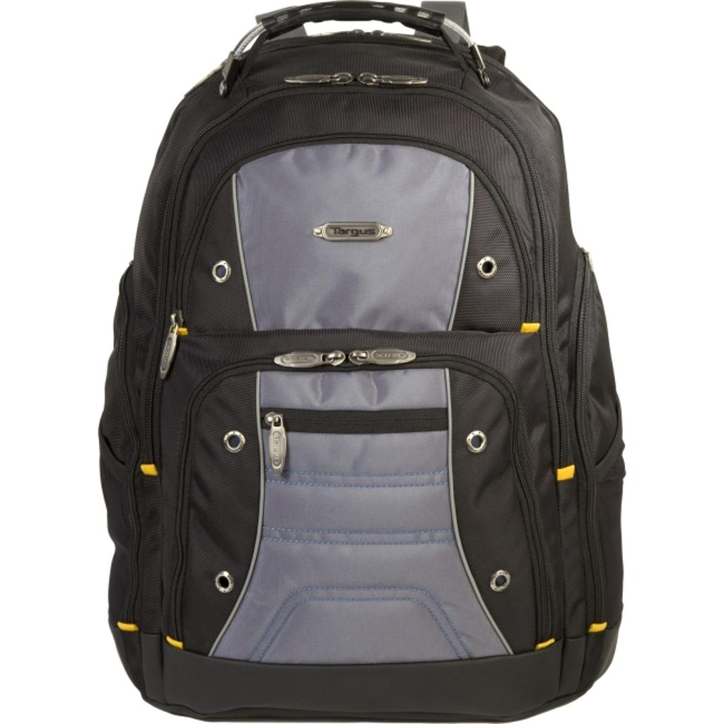 Targus tsb239us 17 drifter ii backpack, black/gray