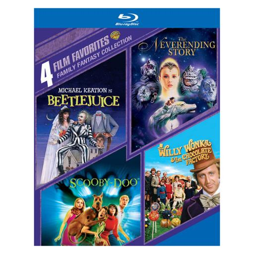 4 film favorites-family fantasy collection (dvd/4 disc) 1294389