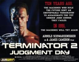 Terminator 2 Judgment Day Movie Poster (17 x 11) MOV196018
