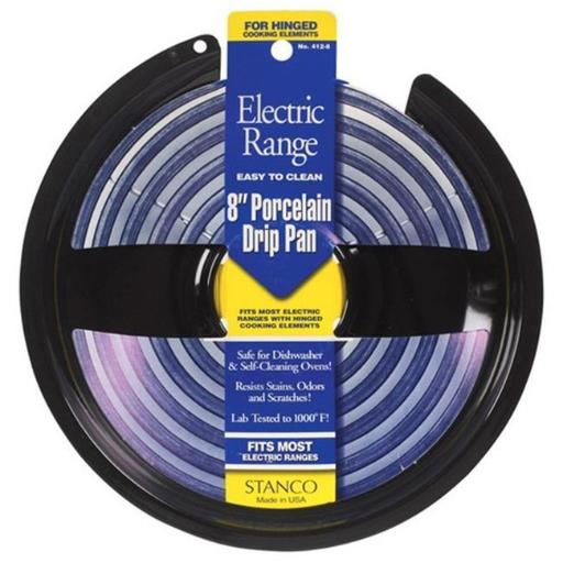 Stanco 412-8 8 in. Electric Range Drip Pan