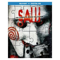Saw-complete movie collection (blu ray w/digital hd) (ws/eng/eng sub/5.1dts BR46260