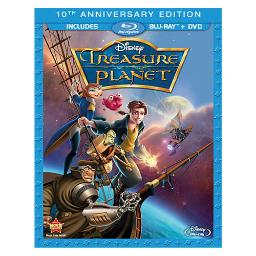 Treasure planet-10th anniversary edition (blu-ray/dvd/2 disc combo/ws) BR109758