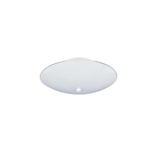 Sea Gull Lighting 7353-15 Close-to-Ceiling Fixture White Glass and White 2-Light