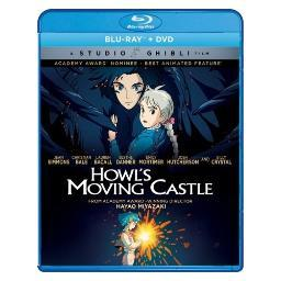 Howls moving castle (blu ray/dvd combo) (2discs/1.85:1/eng/eng sdh/french) BRSF18162