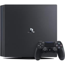 Sony Playstation 4 PRO Gaming Console W/1TB & Dualshock 4 Controller and Headset