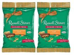 Russell Stover Chocolate Sugar Free Peanut Butter Cups 2 Bag Pack