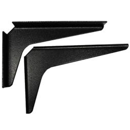 Am0812 B 8 In. X 12 In. Work Station Brackets - Black