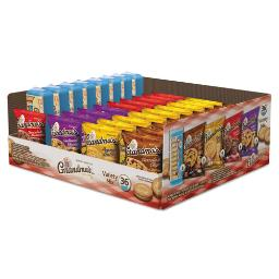 Cookies Variety Tray 36 Count 2.5 OZ Packs | 1 Carton of: 36