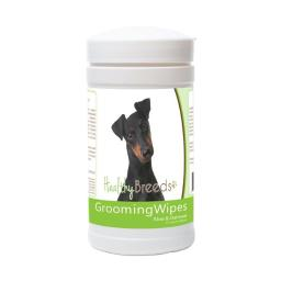 Healthy Breeds 840235173526 Manchester Terrier Grooming Wipes - 70 Count
