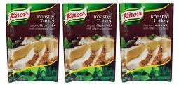 Knorr Roasted Turkey Gravy Mix 3 Packet Pack