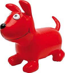 Legler Small Foot 6784 Bouncing Dog Bodo, Bouncing Animal Made of Durable and Light Plastic, from 3 Years on