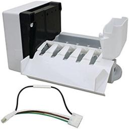 Exact Replacement Parts 0 ERW10190961 Ice Maker for Whirlpool Refrigerators, White