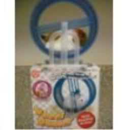 ABL Happy Hamster Pet with Wheel Runner Battery Operated Kid's Toy