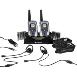 Audiovox GMRS602PK 6-Mile GMRS 2-Way Radio With Charger & Rechargeable Batteries