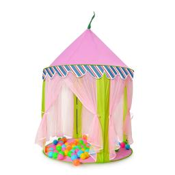 ODOLAND Princess Castle Children Play Tent for Kids Indoor & Outdoor Pink Playhouse – Perfect Gift for Kids