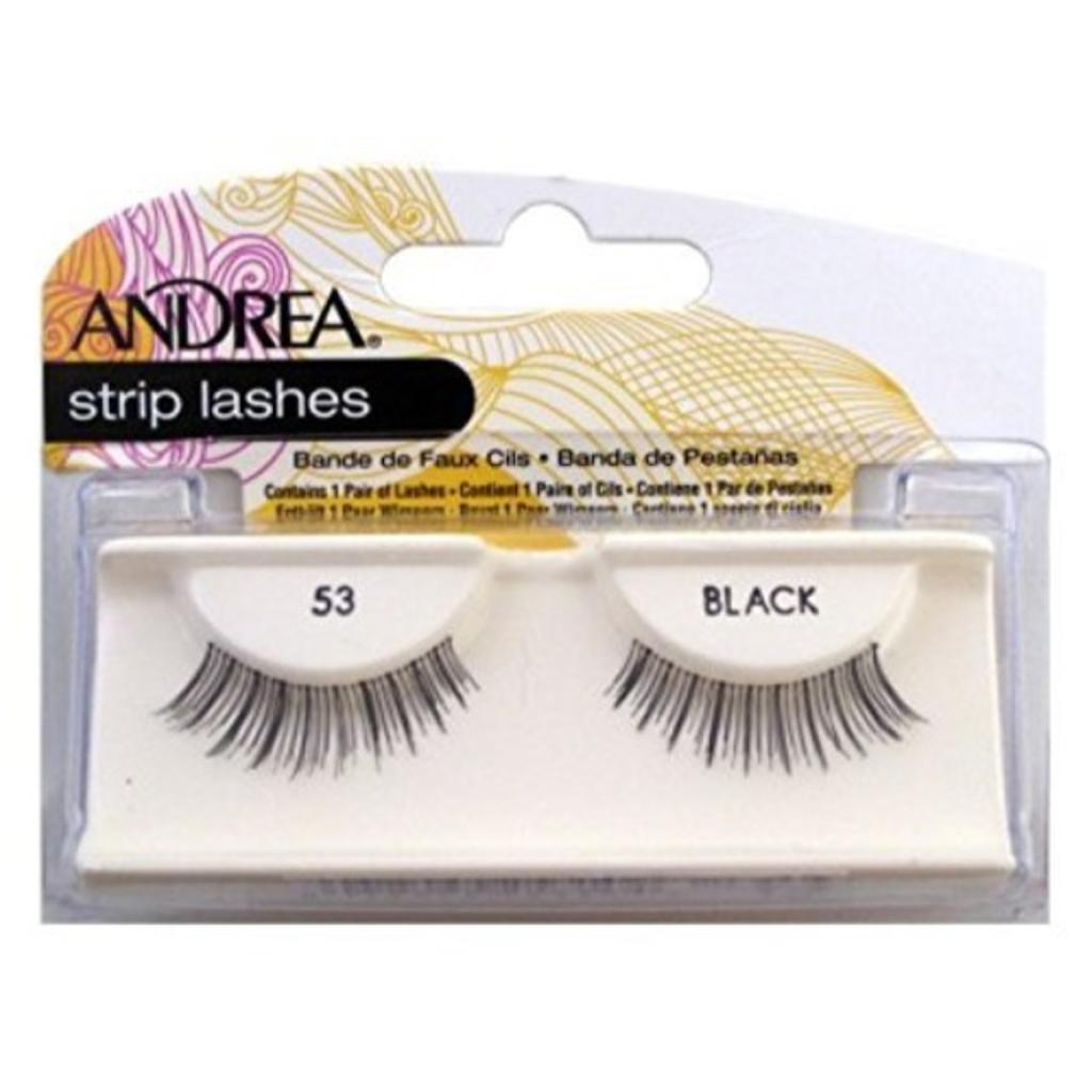 Andrea Eyelash Strip Lashes Black [53] 1 ea (Pack of 2)