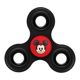 """FOCO Disney Mouse Diztracto Spinnerz Three Way Set-Mickey Spinner Toy, Red, 3"""" x 2.75"""""""