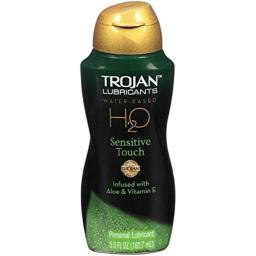 Trojan Lubricants H2O Sensitive Touch, 5.5 Fluid Ounce by Trojan by Trojan