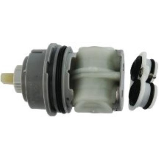 DELTA FAUCET RP46463 Delta Faucet MultiChoice 17 Series Cartridge Assembly, Small, Chrome Plumbing supplies/plumbing repair*Use with MultiChoice universal valve body & 17 or 18 series trim*Dimensions: 8.25 x 2.5 x 4*Made in: united states*Dual function volume and pressure balance temperature control*Genuine Delta repair part