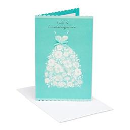 American Greetings Amazing Woman Bridal Shower Greeting Card with Ribbon
