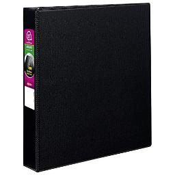 Avery 27350 Durable Binder with Slant Rings, 11 x 8 1/2, 1 1/2, Black