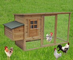 "78x30""x40"" Backyard Nest Box Chicken Coop Hen House Rabbit Hutch Poultry Cage"""