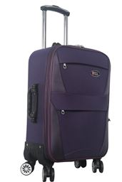 Brio Luggage Softside Carry On Expandable Spinner #6021 - Purple
