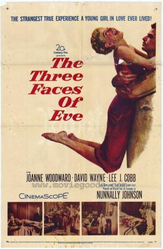 The Three Faces of Eve Movie Poster Print (27 x 40) 790658