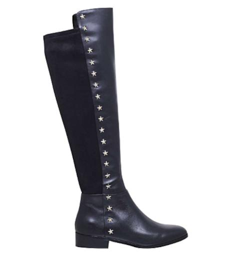 top-rated genuine lowest price luxury Michael Kors Womens Bromley Flat Boot Closed Toe Knee High Riding Boots