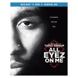 All eyez on me (blu ray/dvd combo) (2discs) (ws/eng/span sub/eng sdh/5.1dts BR52750