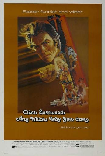 Any Which Way You Can Movie Poster Print (27 x 40)