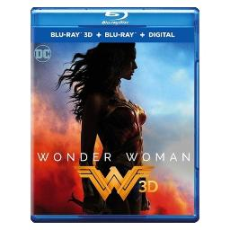 Wonder woman (2017/3d blu-ray/std blu-ray/digital combo/non-returnable) BR652614