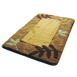 Naomi - Autumn Leaf Luxury Home Rugs (19.7 by 31.5 inches)