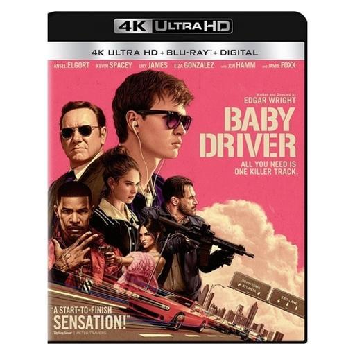 Baby driver (blu-ray/4k-uhd/ultraviolet/2 disc) 1299010