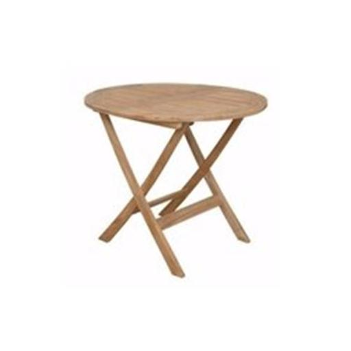 Chester 32 in. Round Folding Picnic Table