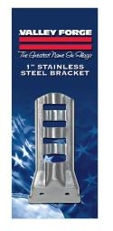 "Valley Forge Sb1-1 Flag Brackets, 1/2"", Steel"