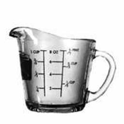 Measuring Cup, 8 oz - 1 Pkg