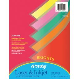Pacon corporation 3 pk array bright color paper 101049bn