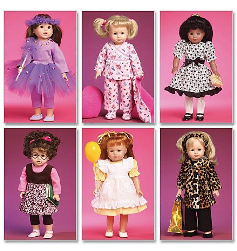 Clothes and Accessories for 18 Doll-One Size Only *SEWING PATTERN* ZVJAKYLH0N03NFPY