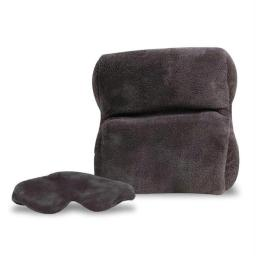 Travelon 220512 Travelon Ultra Fleece Travel Pillow & Eye Mask Set