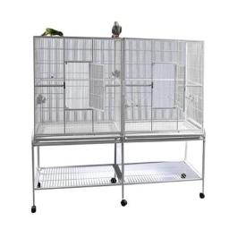 a-e-cages-ae-6421b-double-flight-cage-with-divider-black-wptg0jx9odqz964v