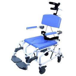 Healthline 791154430217 Aluminum Tilt Shower Commode Chair, 20 in.