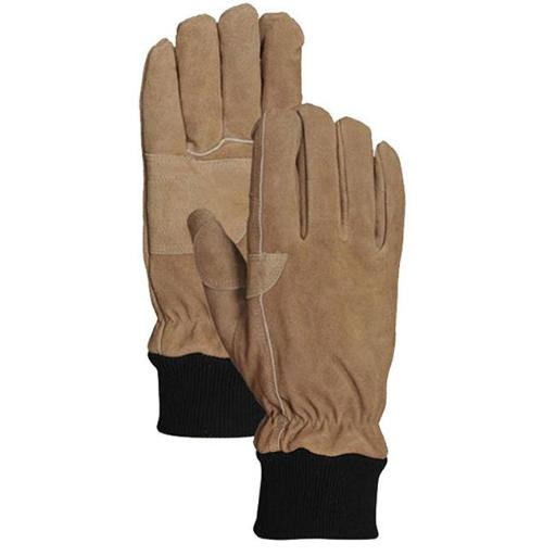 LFS Glove AGC5562L Large Bellingham Mens Insulated Leather Work Glove, Tan