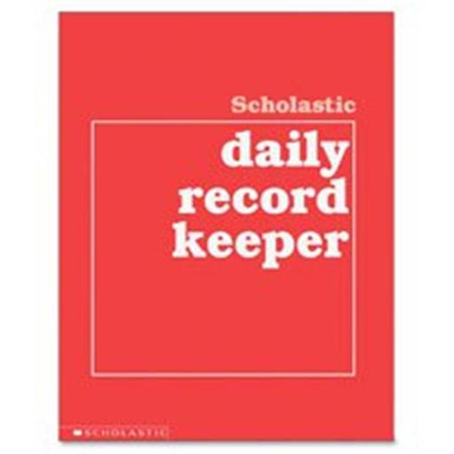Scholastic Teaching Resources SHS0590490680 Grades K-6 Daily Record Keeper
