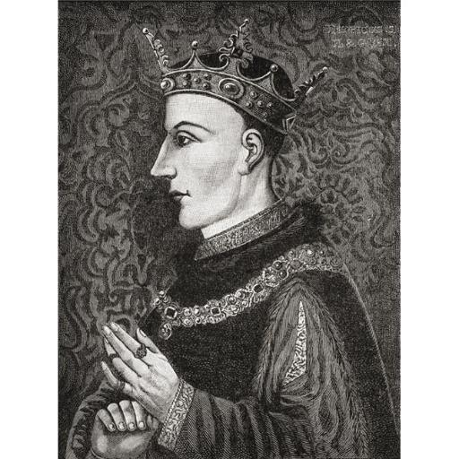 Posterazzi DPI1877676 Henry V, C. 1386 to 1422 King of England From The Book Short History of The English People by J.R. Green Published London 1893 P