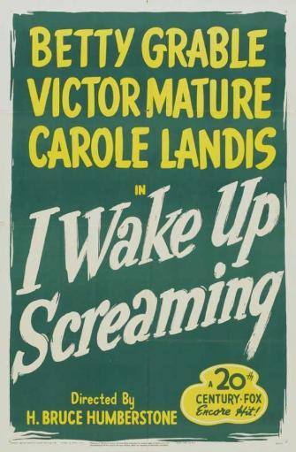 I Wake Up Screaming Movie Poster (11 x 17) 1VDKTHVVY3LCYIXT