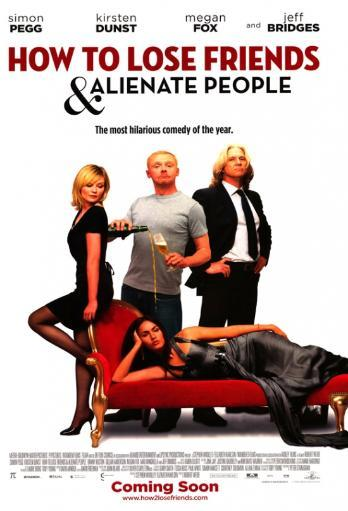 How to Lose Friends and Alienate People Movie Poster (11 x 17) V4Q1RBFXAZCLKFDJ