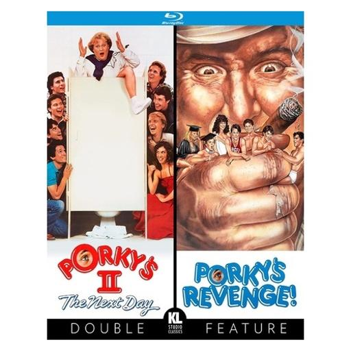 Porkys ii/porkys revenge (blu ray) (double feature) 1308616