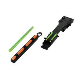 Hiviz tb2004 hiviz tombuster ii fiber optic sight ribbed shotguns from 1/4″ to 3/8″  with removeable