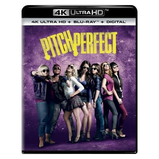 Pitch perfect (blu-ray/4kuhd/ultraviolet/digital hd)
